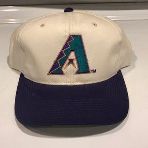 Vintage Arizona Diamondbacks snap back hat MLB